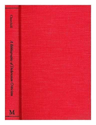 9780333191941: Bibliography of Dickensian Criticism, 1836-1974 (Garland reference library of the humanities ; v. 12)
