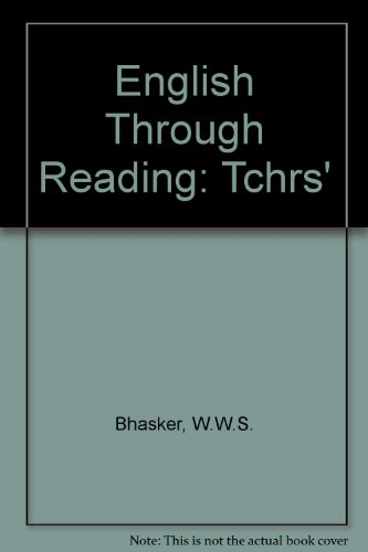 9780333192023: English Through Reading: Tchrs'