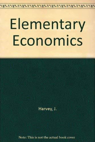 9780333193938: Elementary Economics