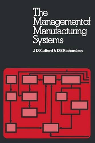 9780333195222: The Management of Manufacturing Systems