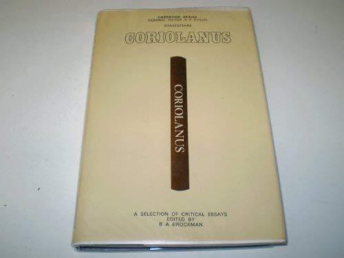 """Shakespeare's """"Coriolanus"""" (Casebook)"""