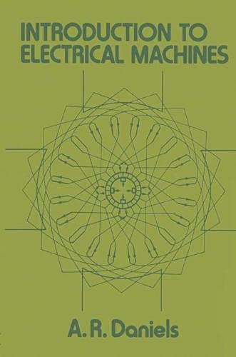 9780333196267: Introduction to Electrical Machines (Electrical and electronic engineering)