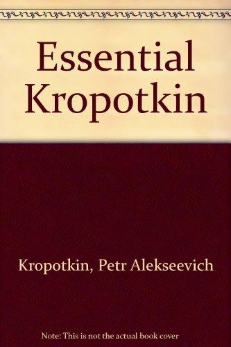 9780333196670: Essential Kropotkin
