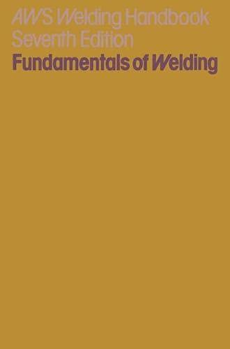 9780333198742: American Welding Society Welding Handbook, Section 1 Fundamentals of Welding