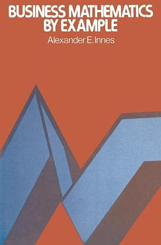 9780333199695: Business Mathematics by Example