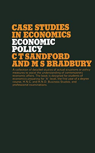 9780333214800: Economic Policy (Studies in Economics)