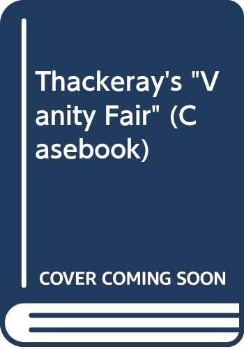 9780333215135: Thackeray's