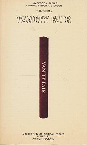 9780333215142: Thackeray: Vanity Fair (Casebooks Series)