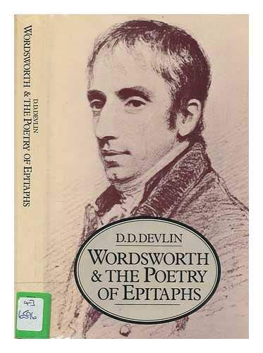 9780333217832: Wordsworth and the poetry of epitaphs