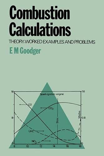 9780333218013: Combustion Calculations: Theory, worked examples and problems