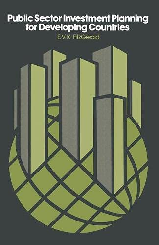 9780333226278: Public Sector Investment Planning For Developing Countries