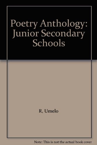 9780333226933: Poetry Anthology: Junior Secondary Schools