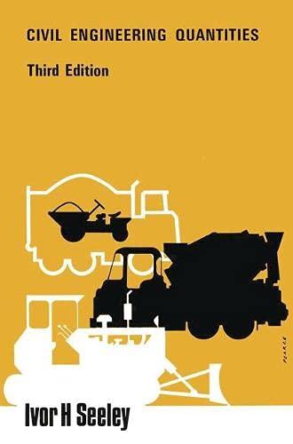 9780333227756: Civil Engineering Quantities