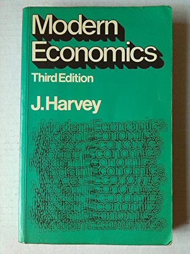 9780333230428: Modern Economics: An Introduction for Business and Professional Students