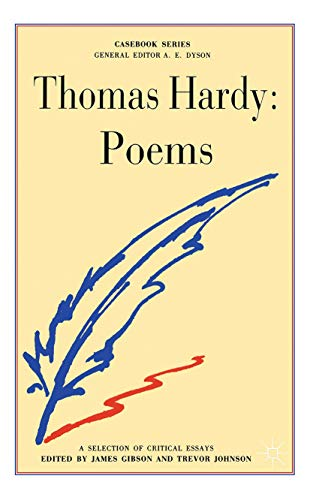 9780333231074: Hardy: Poems: Thomas Hardy (Casebooks Series)