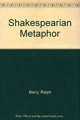 9780333231760: Shakespearian Metaphor
