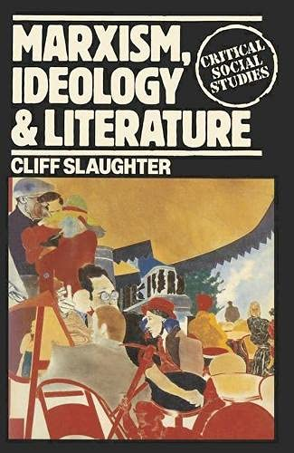 9780333232156: Marxism, Ideology and Literature (Critical Social Studies)