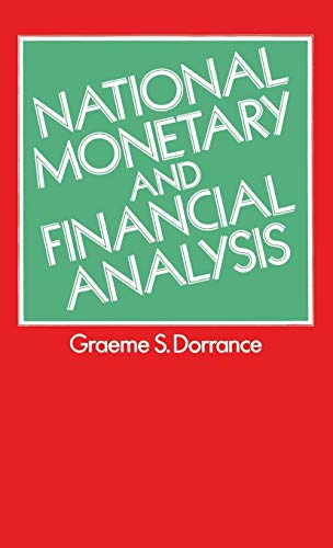 9780333232385: National Monetary and Financial Analysis