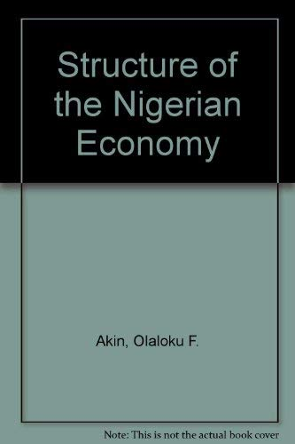 Structure of the Nigerian Economy