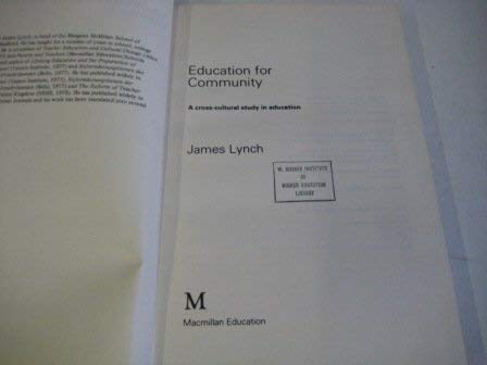 Education for Community (0333236289) by James Lynch