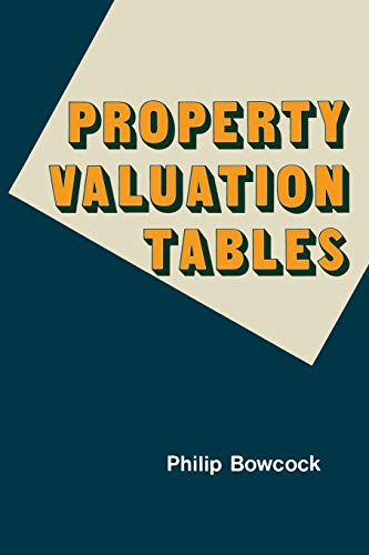 9780333237298: Property Valuation Tables