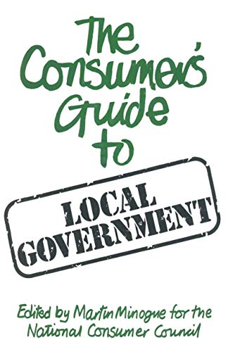 9780333237632: Consumer's Guide to Local Government