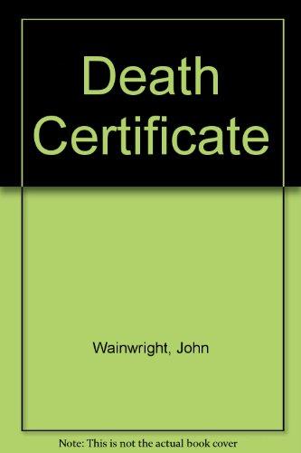 Death Certificate: Wainwright, John