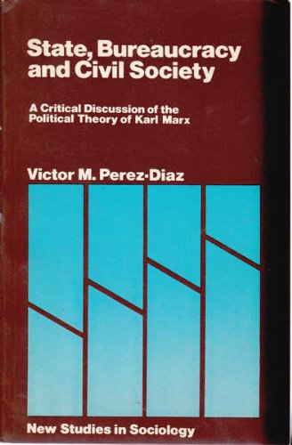 9780333237892: State Bureaucracy and Civil Society (New studies in sociology)