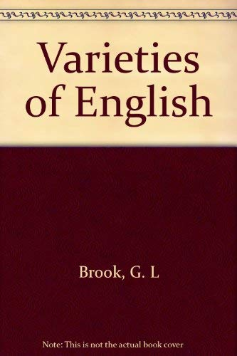 9780333239742: Varieties of English