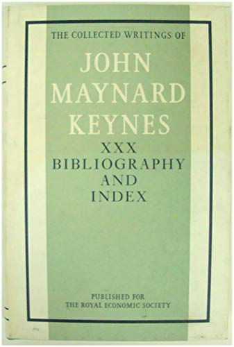 9780333241769: Bibliography and Index: v. 30 (Collected works of Keynes)