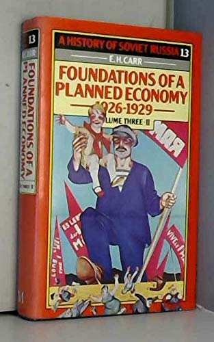 9780333242162: A History of Soviet Russia: Foundations of a Planned Economy, 1926-1929