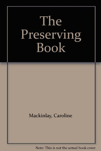 9780333246207: Preserving Book