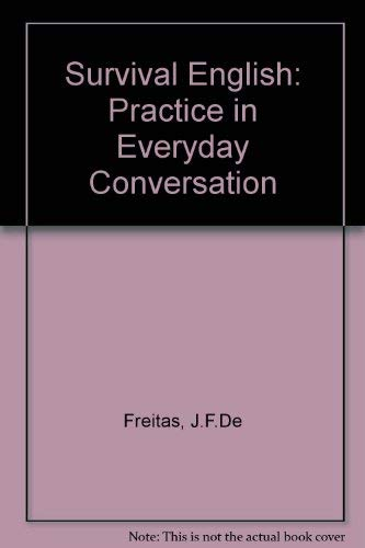 9780333247020: Survival English: Practice in Everyday Conversation