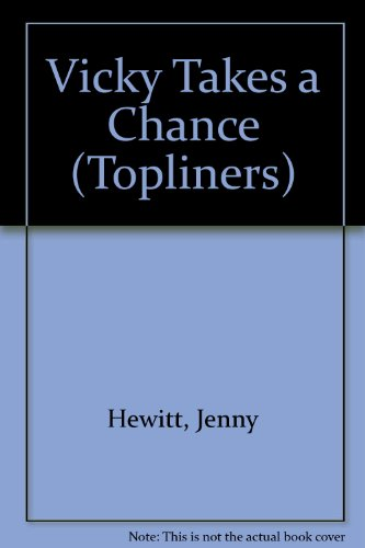 9780333247945: Vicky Takes a Chance (Topliners)