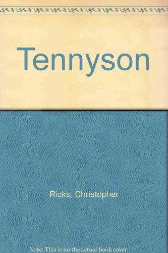 9780333248287: Tennyson