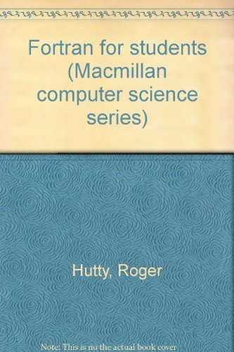 9780333253311: Fortran for students (Macmillan computer science series)