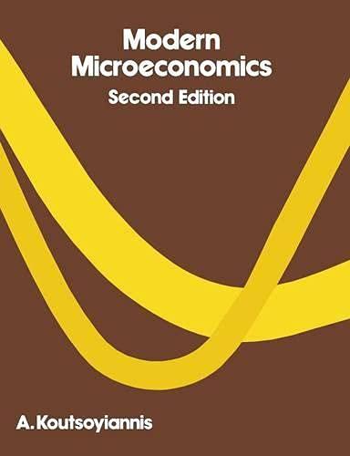Modern Microeconomics: Koutsoyiannis, A.
