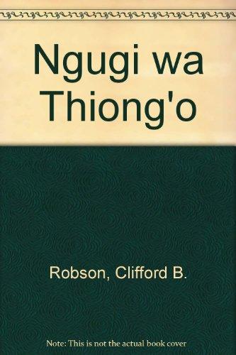9780333254714: Ngugi wa Thiong'o (Macmillan Commonwealth writers series)