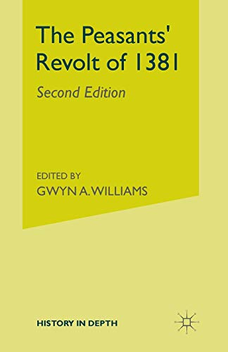9780333255056: The Peasants' Revolt of 1381 (History in Depth)