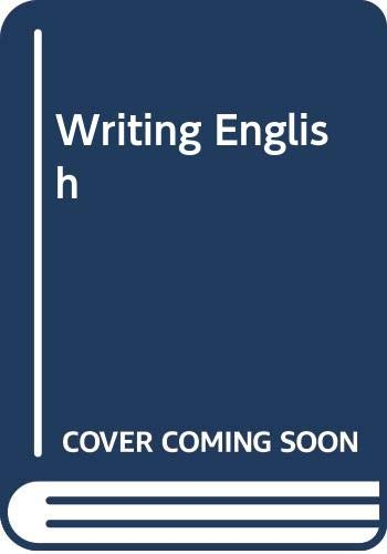 Writing English (0333255178) by Adams, Richard M.; Foster, John L.; Wilson, Robert L.