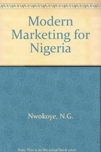 9780333256565: Modern Marketing for Nigeria