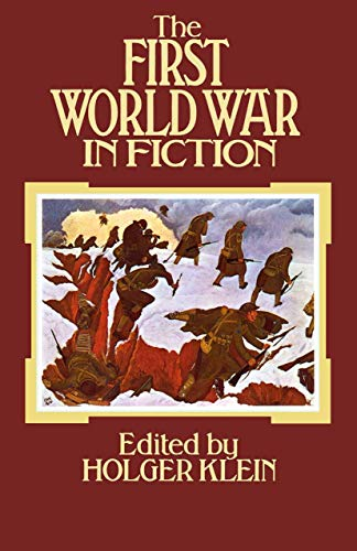 9780333257975: The First World War in Fiction: A Collection of Critical Essays