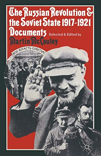 9780333257982: The Russian Revolution and the Soviet State 1917–1921: Documents (Studies in Russia and East Europe)