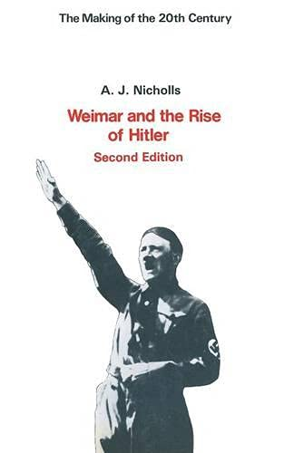 9780333258002: Weimar and the Rise of Hitler