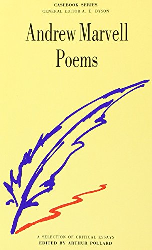 Stock image for Marvell: Poems (Casebooks Series) for sale by medimops