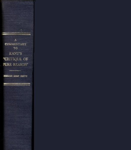 9780333261033: A Commentary to Kant's