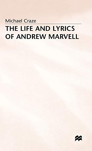 9780333262504: The Life and Lyrics of Andrew Marvell