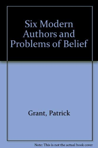 9780333263402: Six Modern Authors and Problems of Belief