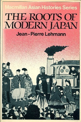 9780333266052: The Roots of Modern Japan (Asian History Series)