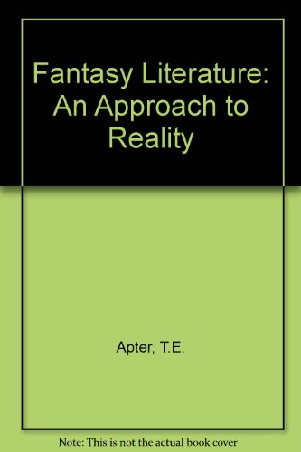 9780333268032: Fantasy Literature: An Approach to Reality
